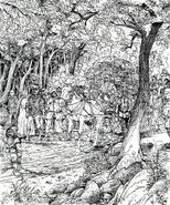 Caravana por Russ Nicholson