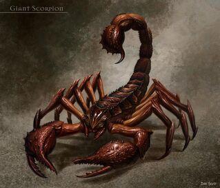 Escorpión Gigante por Dan Scott Warhammer Online