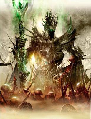 Nagash, el Inmortal por Jon Sullivan Boceto Nagash (1)