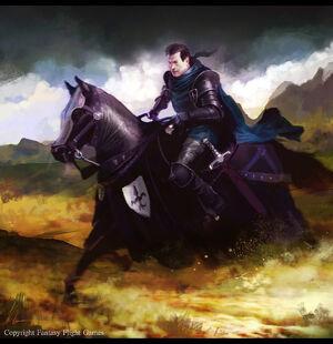 El Caballero Negro por Ignacio Bazán Lazcano
