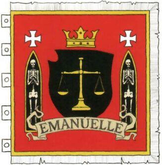 Emanuelle von Liebewitz flag