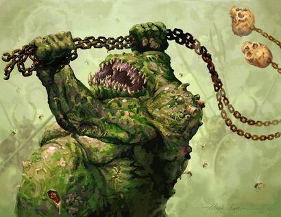Gran Inmundicia de Nurgle de Hugh Jamieson
