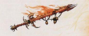 Espada Infernal Desangradores