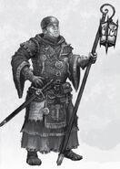 Guardián de Templo por Pat Loboyko