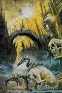 Mousillon Puente no muertos por John Blanche