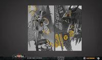 Carta skaven arte conceptual vermintide 2 por Fariba Khamseh