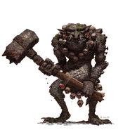 Concept- stone troll- GW by adrian-smith