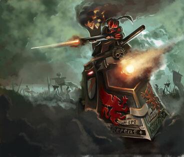 Warhammer invasion steamtank by 1mpact-d39lkrb