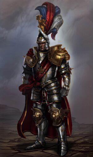 Karl Franz arte conceptual Warhammer Total War por Artur Sadlos - copia