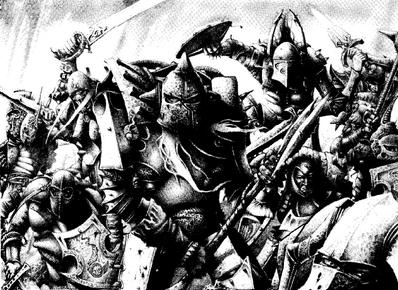 Partida de guerra guerreros del caos por Adrian Smith