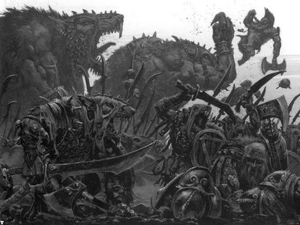 Adrian smith Batalla Skavens derrotando Enanos