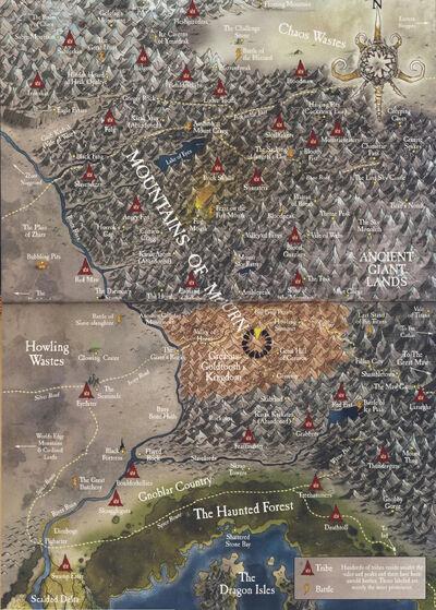 Mapa Reinos Ogros Warhammer