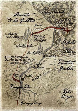 Mapa Ruta del Marfil