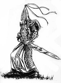 Warhammer Swordmaster by stokesbook