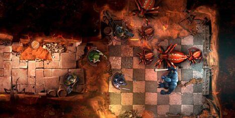 Warhammer quest arañas troll