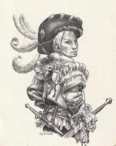 Leos von Liebwitz por Paul Bonner