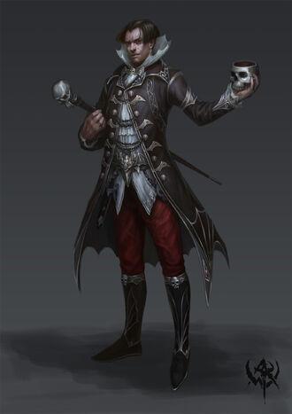 Noble Conde Vampiro Sylvania por zhangji