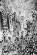 Ciudadela y Ejército del Caos John Blanche