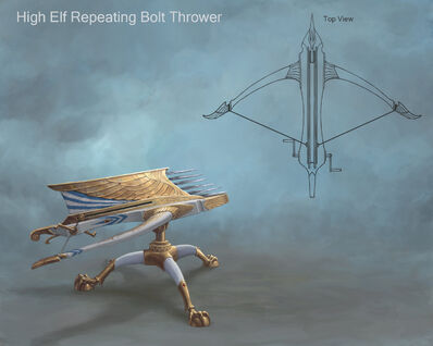Lanzavirotes de repetición Altos Elfos por Sven Bybee