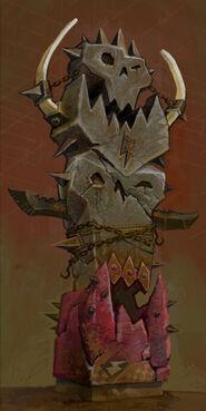 Totem Orco por ItchyNick