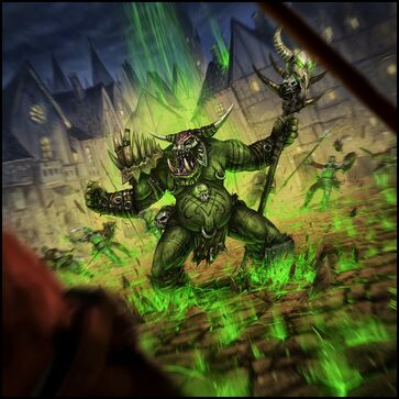 Warhammer Cataclysm Metalfoot Groundcrusher Mark Molnar Chamán Orco