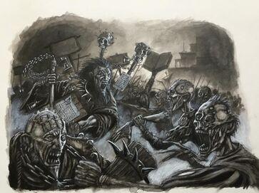 Flagelantes contra zombis