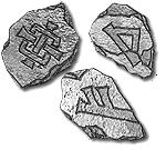 Runas Enanas en piedras