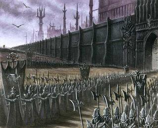 Hueste Negra de Malekith por Des Hanley Elfos Oscuros