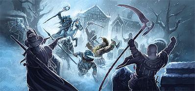 Nigromante aventureros warhammer el juego de rol cuarta edición