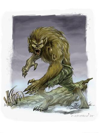 Cuando Florece la Maldición del Lobo por Caleb Cleveland Licántropo