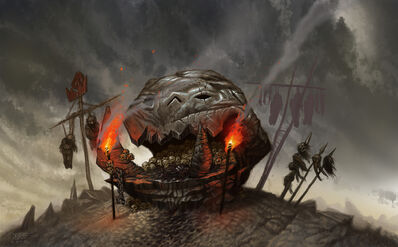 Ídolo Orco por Jonathan Kirtz