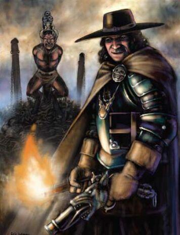 Cazador de Brujas por Eric Lofgren