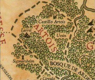 Mapa Artois