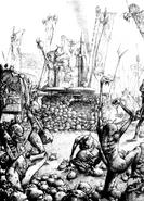 Nurgle portadores de plaga por Adrian Smith