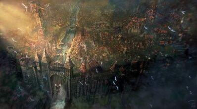 Vista aérea de Übersreik por Victor P. Corbella