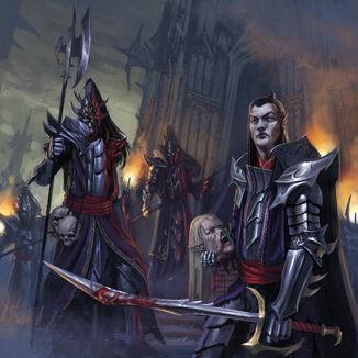 Guardia Negra de los Elfos Oscuros por Diego Gisbert Llorens