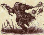 Caballero del Caos por Pat Loboyko