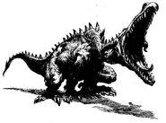 Creetox, el Dragón canijo por Paul Bonner