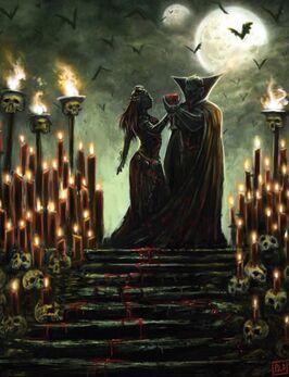Vampiros Von Carstein por Pat Loboyko