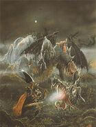 Dragón Zombi por John Blanche 3º edición