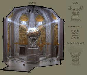 Santuario Subterráneo de Grungni por Lucas Hardi