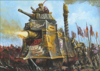 Tanque de Vapor del Imperio por Alex Boyd