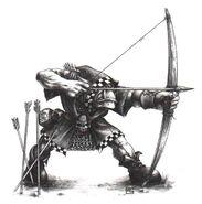 Arquero Orco Mark Gibbons
