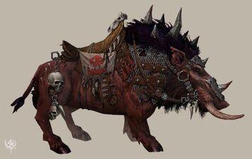 Jabalí de Guerra armadura ligera por Erik Polak Warhammer Online