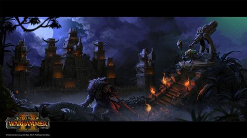 Templo pirámide warhammer total war por Stoyan Stoyanov