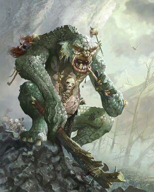 Troll de la Montaña por Ryan Barger