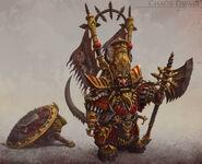 Enano del Caos Warhammer Online por Michael Phillippi