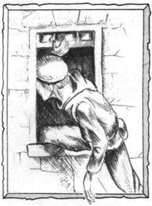Ladrón dibujo