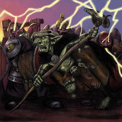 Chamán Goblin por John Wigley