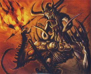 Madail, Sacerdote Oscuro Demoníaco por John Gravato príncipe demonio